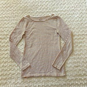 J.Crew artist T striped long sleeve
